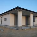 観音寺市:軒下が特徴の住みやすい平屋建て住宅(SW工法)